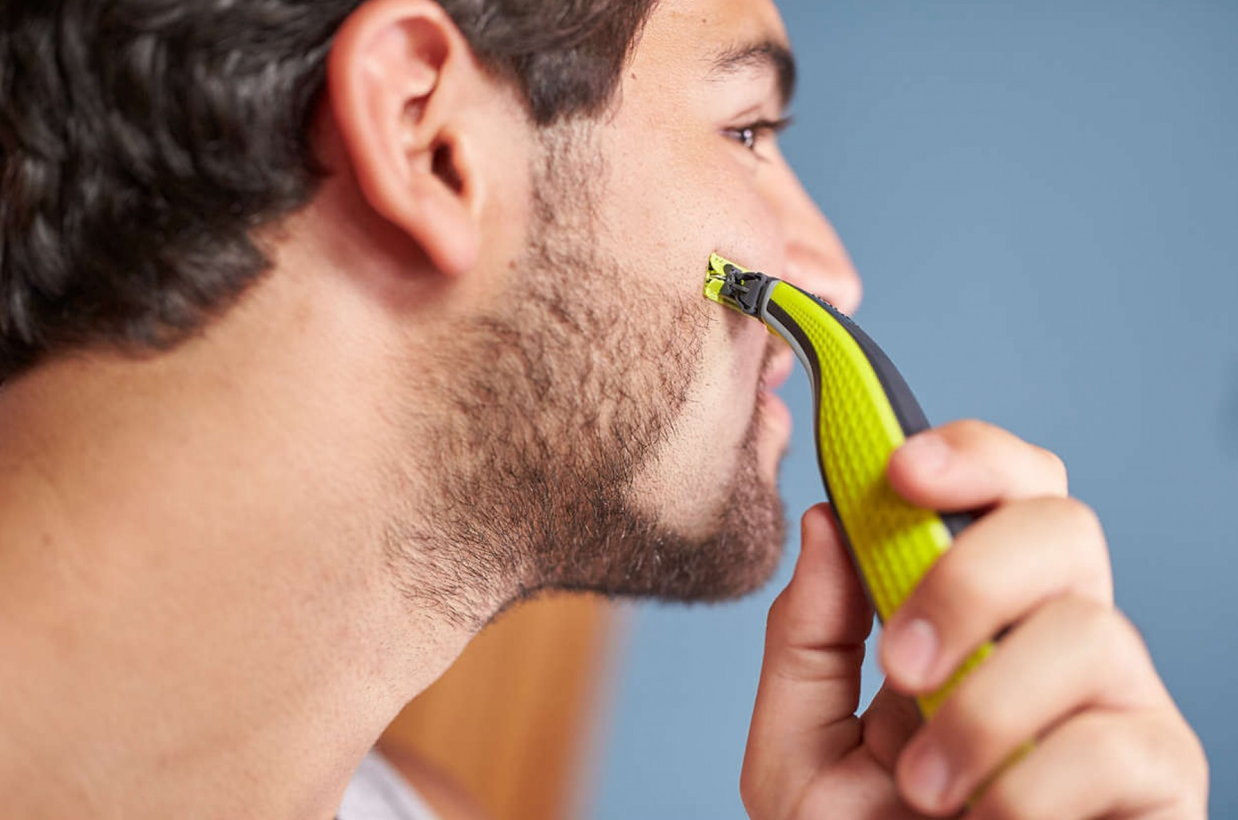 philips oneblade gezicht trimmen scheren