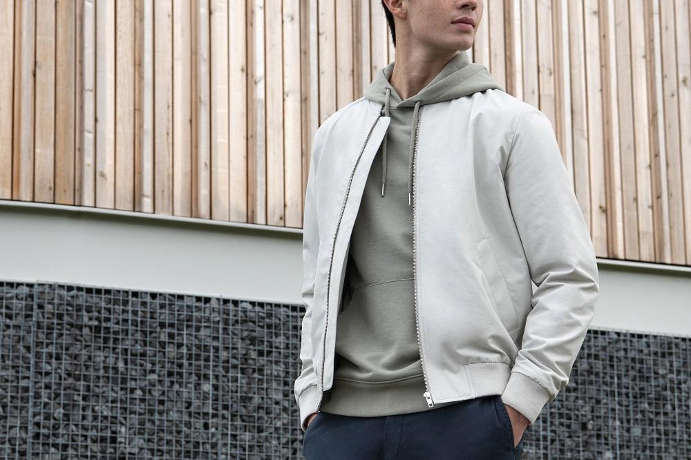zomerkleding mannen bomber jacket