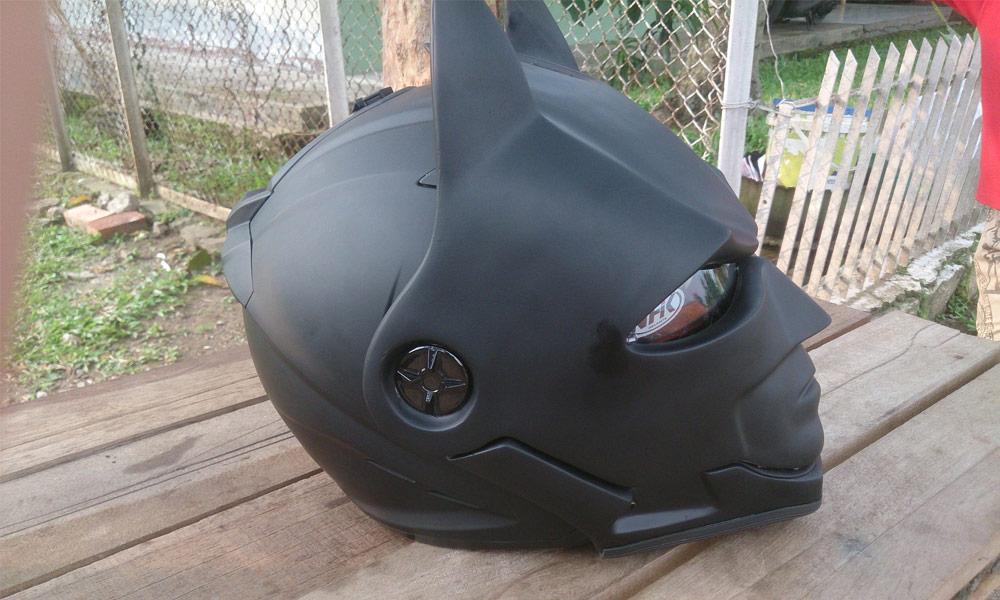 Batman motorhelmen
