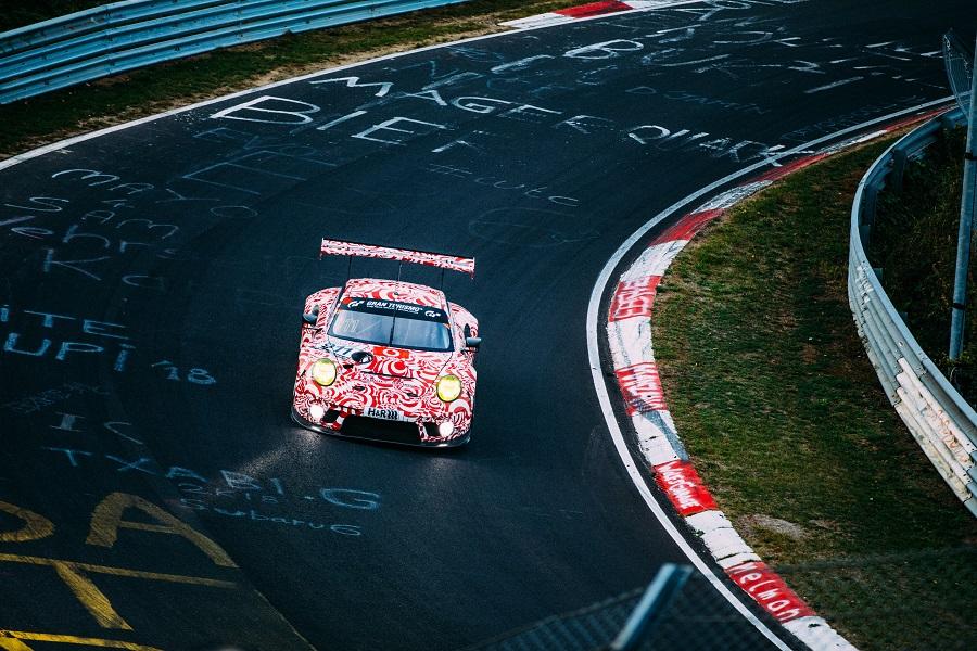 Crashen op de Nürburgring