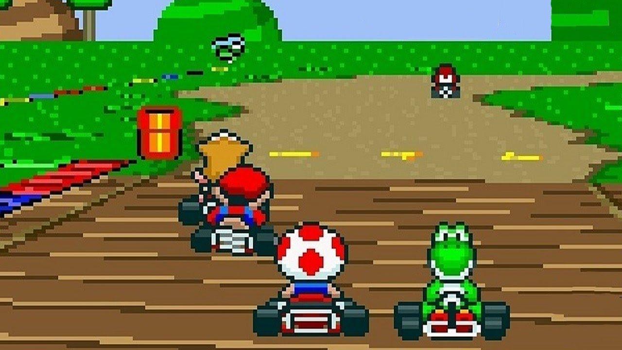 SNES Mario Kart