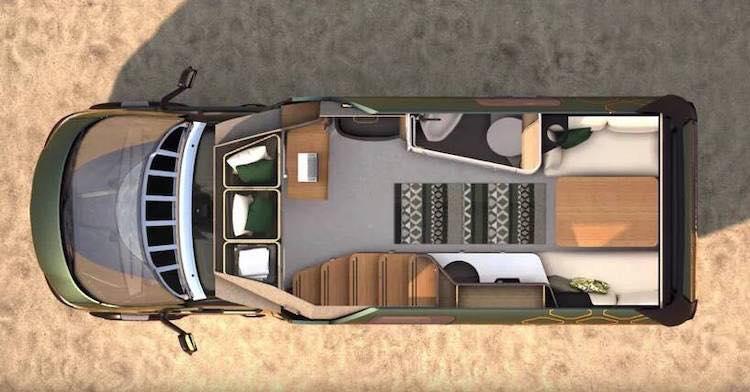 mini camper mercedes