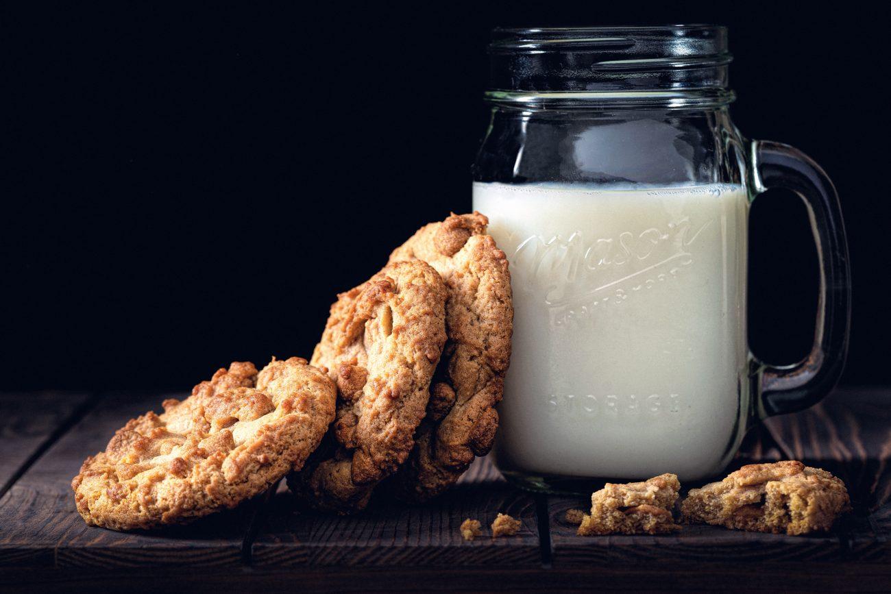 melk drinken