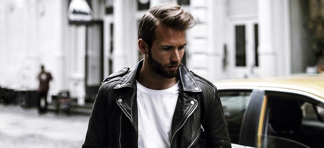 leren jas biker jacket