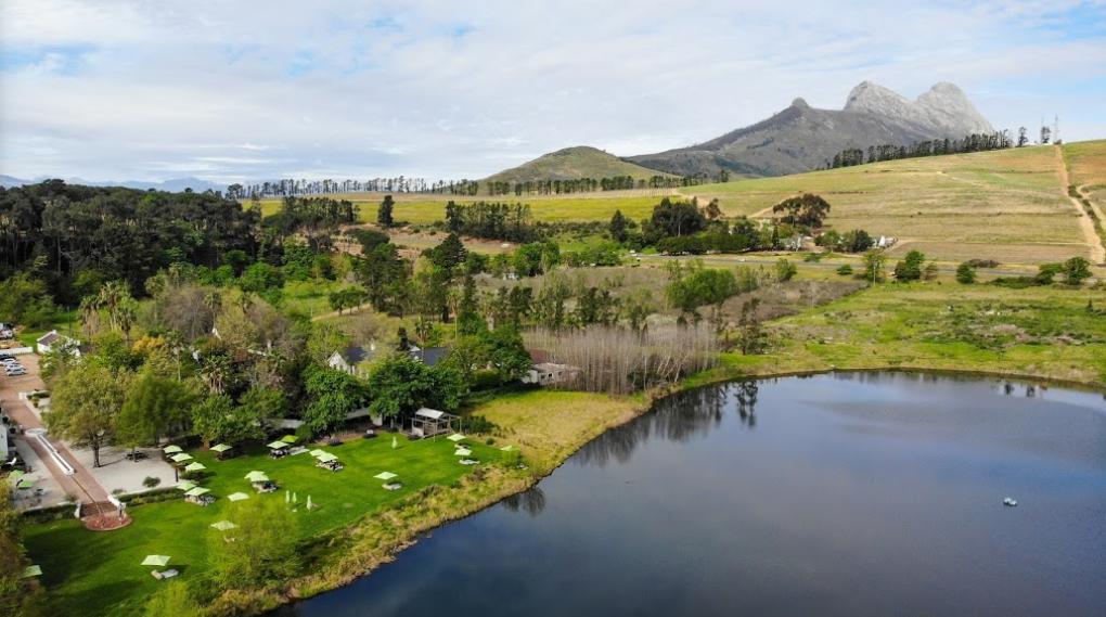 reisroute door Zuid-Afrika