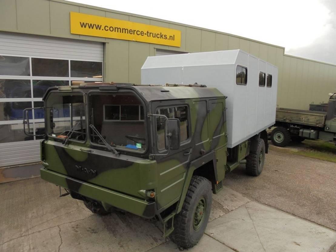 Camper leger vrachtwagen