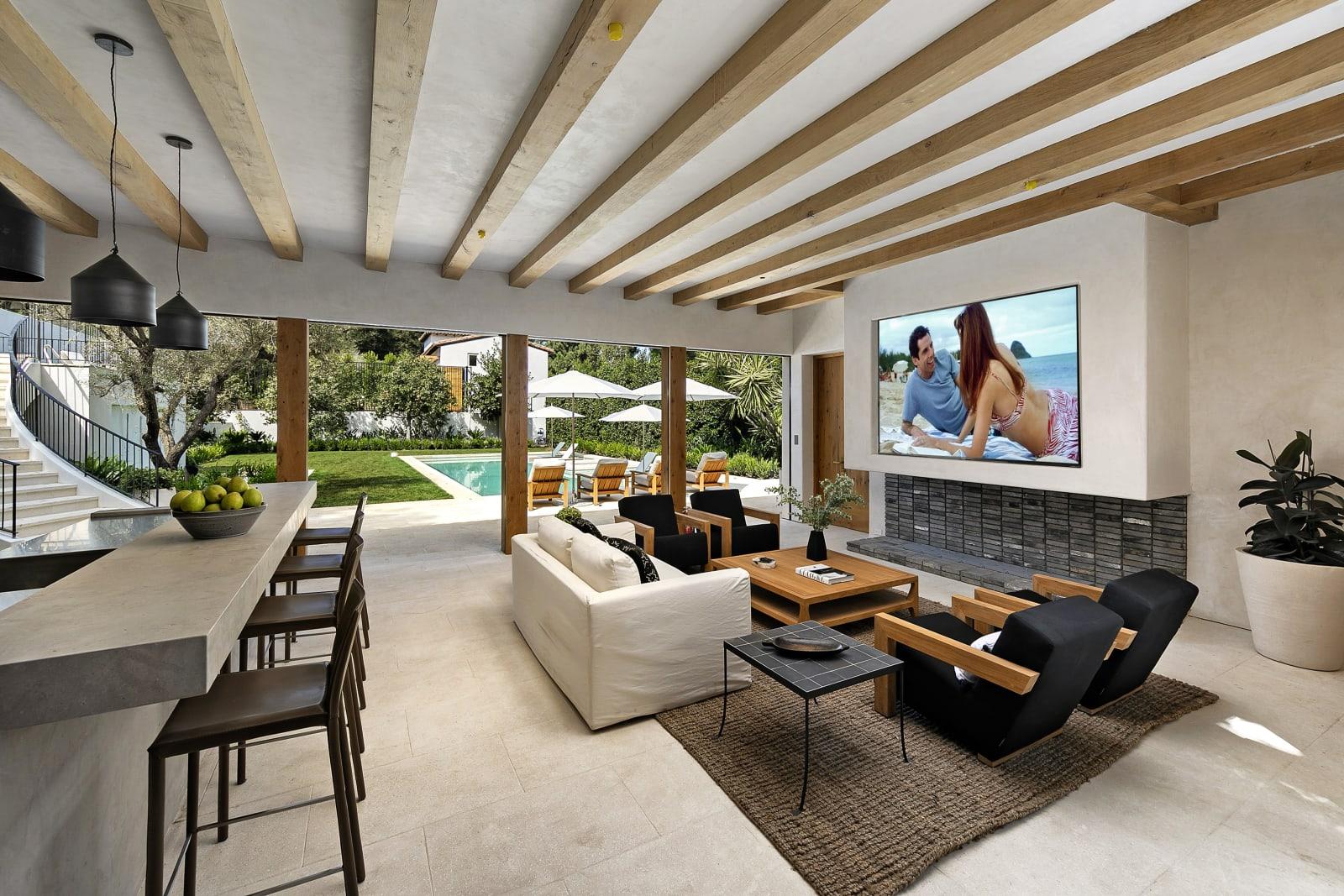 nieuwe villa Travis Kalanick