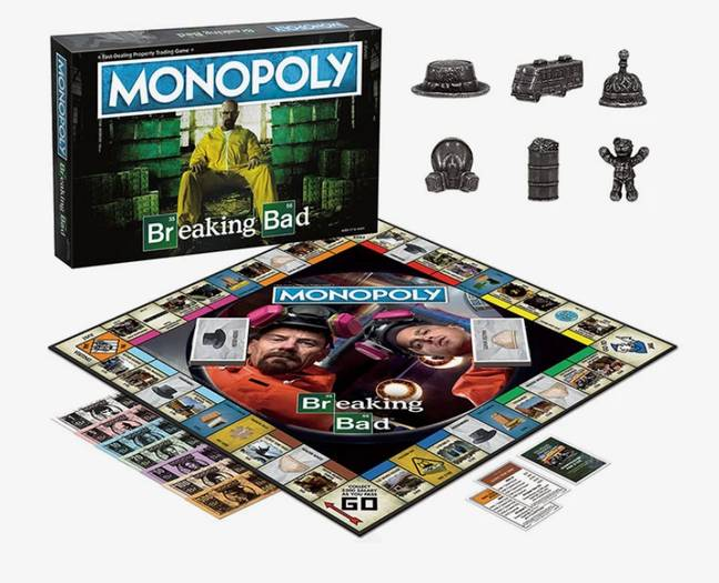 Breaking Bad Monopoly
