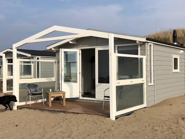 bungalow huren op het strand
