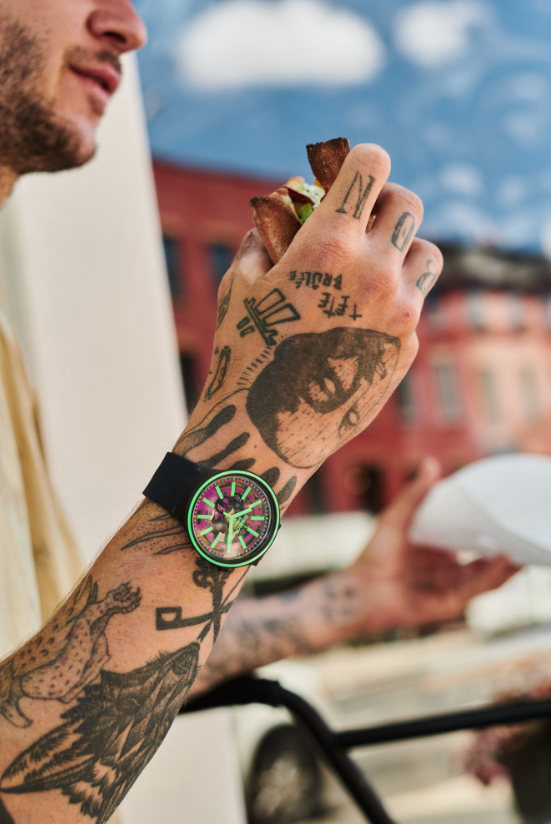 grote horloges brede pols heren