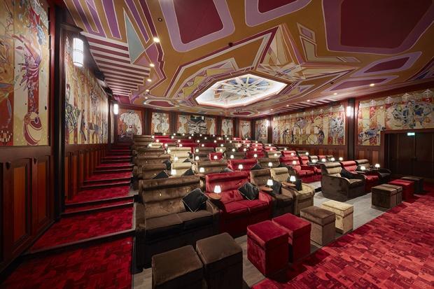 Tuschinski luxe bioscoop verbouwing Pathé