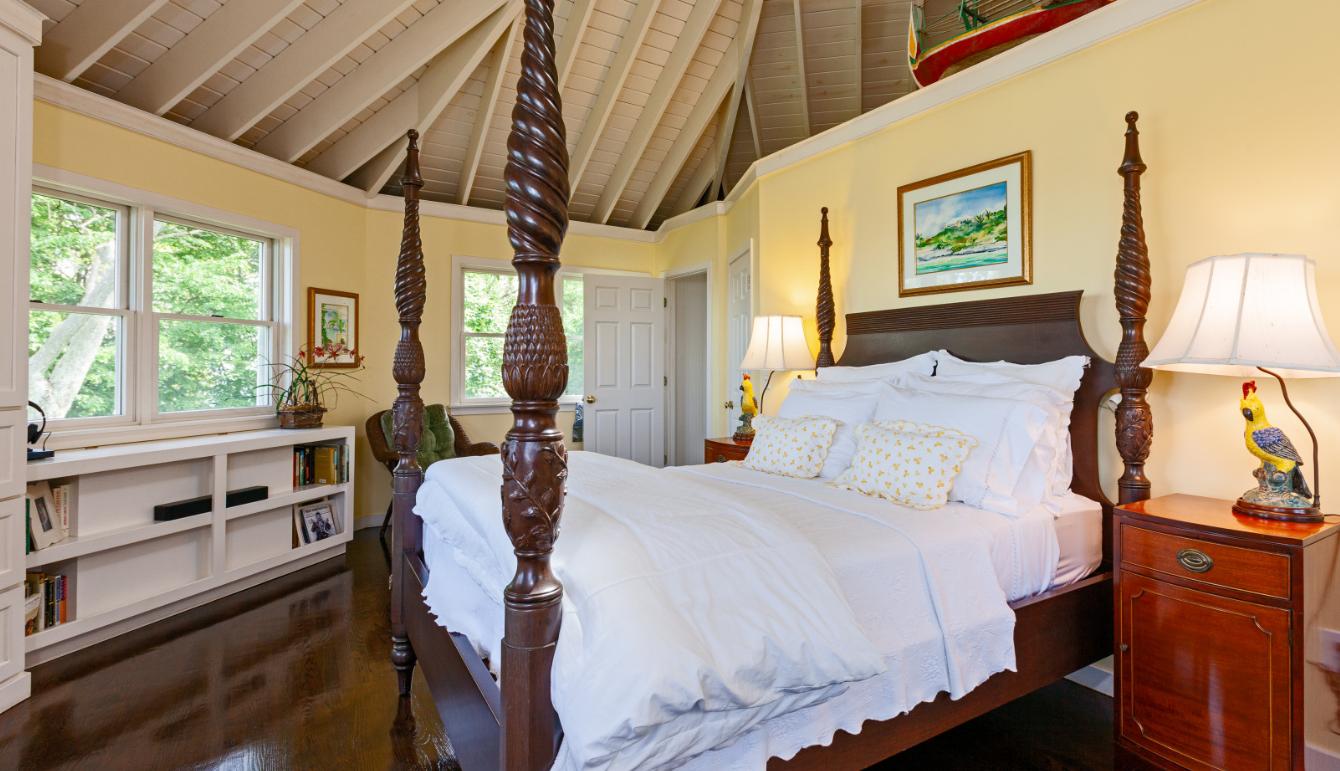 Copps Island slaapkamer