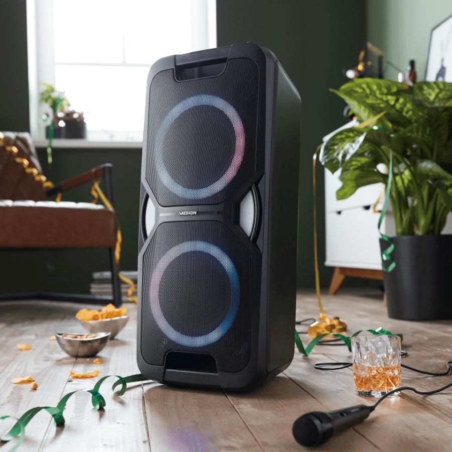goedkope party speaker aldi