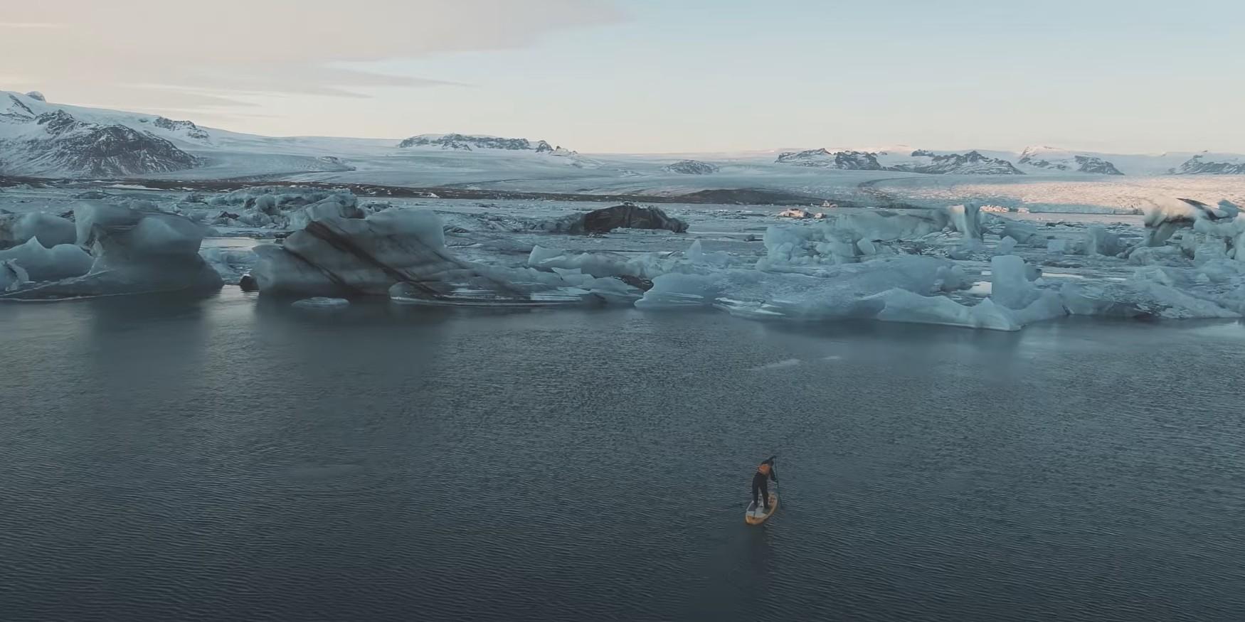 Suppen vakantie IJsland natuur video