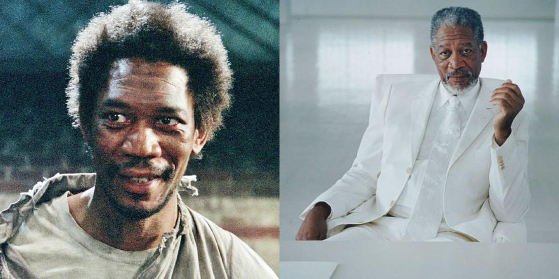 Morgan Freeman tranformatie