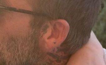 david beckham kleine roos tattoo