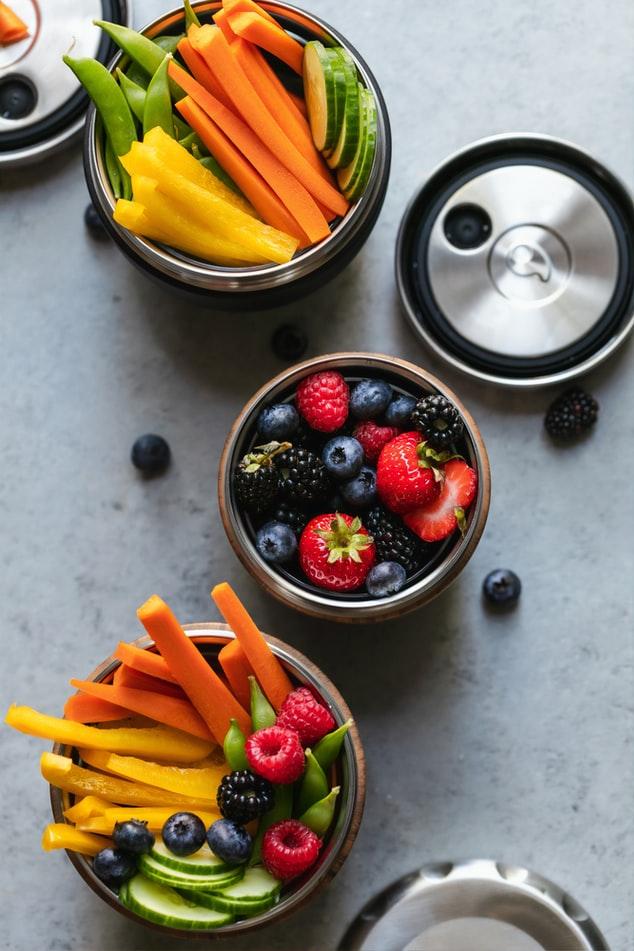 gezonde lekkere snackgroenten afvallen