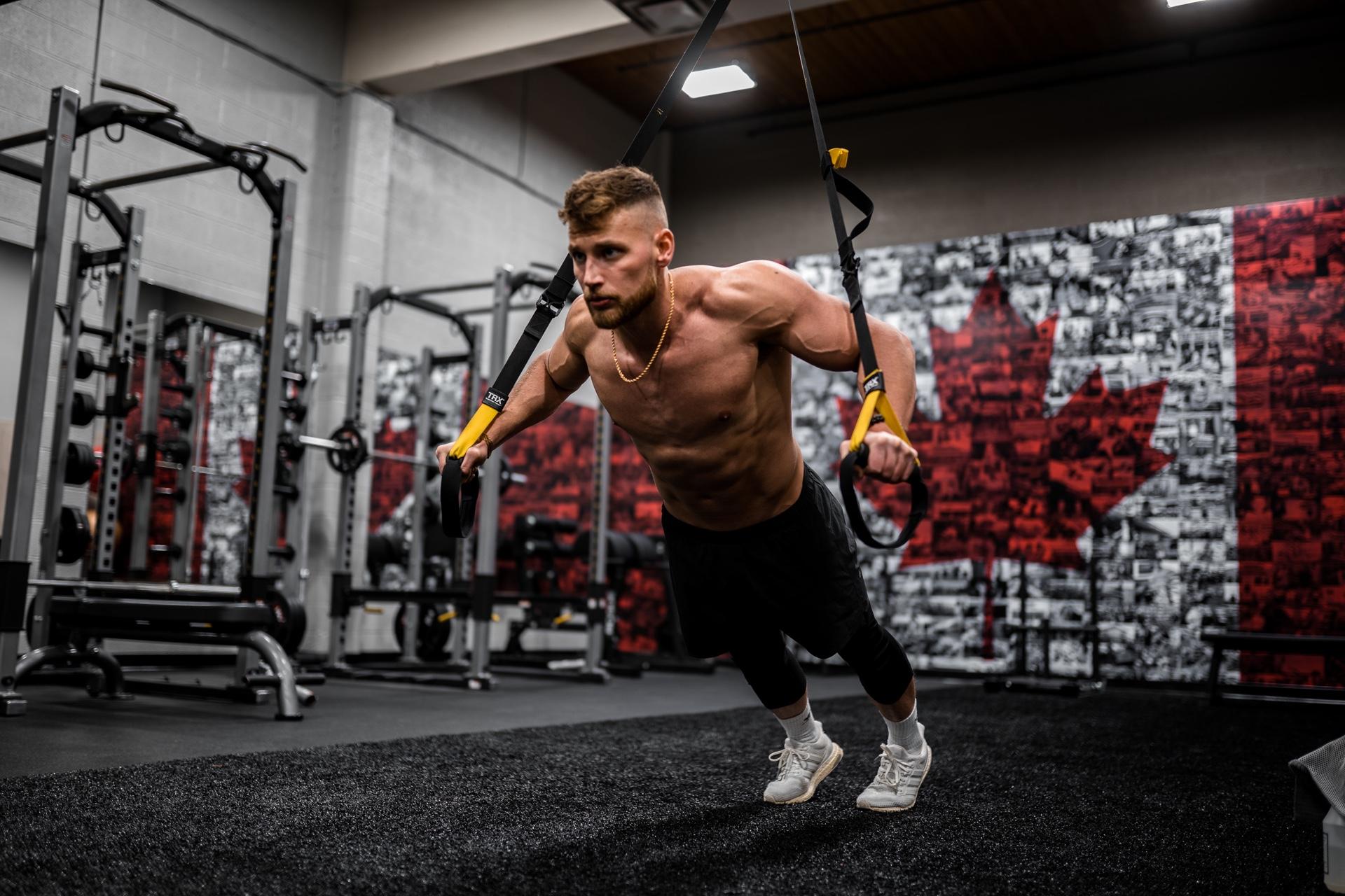 push-ups voor spiermassa