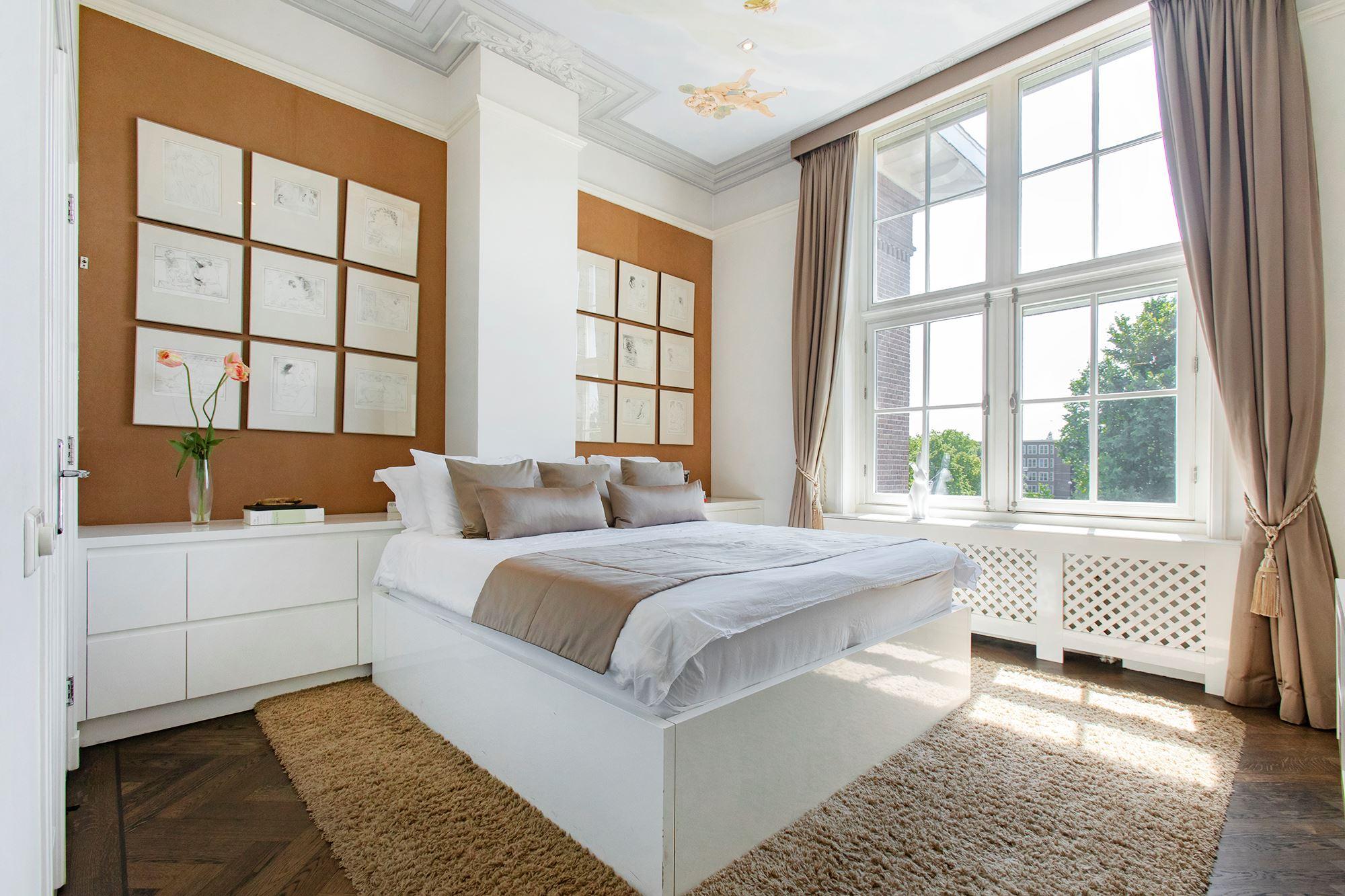 slaapkamer penthouse amsterdam zuid