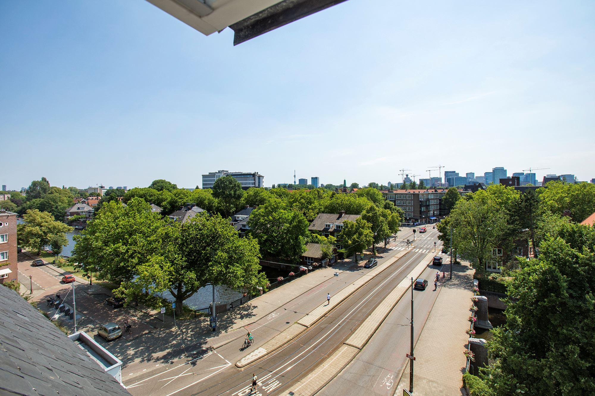 uitzicht van penthouse amsterdam zuid