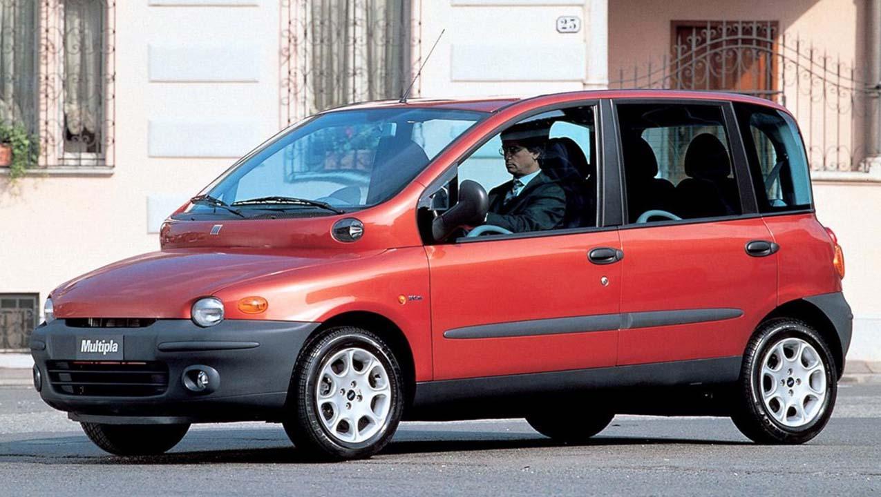 Fiat Multipla lelijkste auto's ooit
