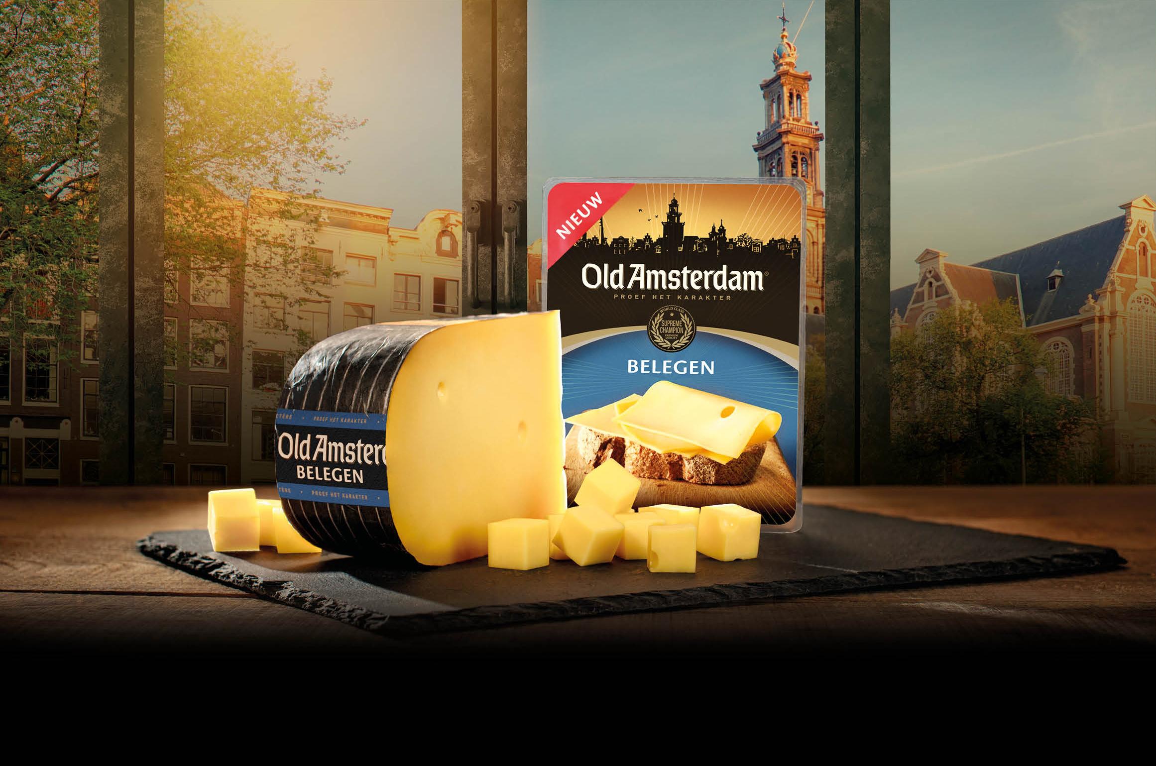 old amsterdam belegen nieuwe kaas