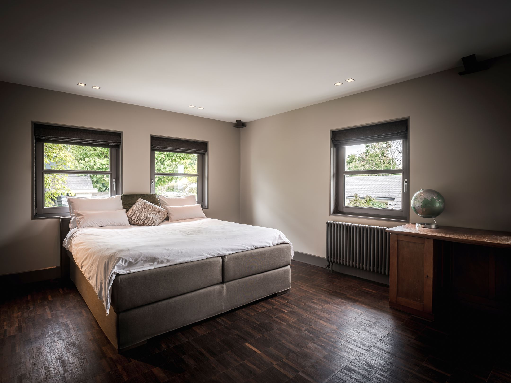 moderne villa nuenen slaapkamer