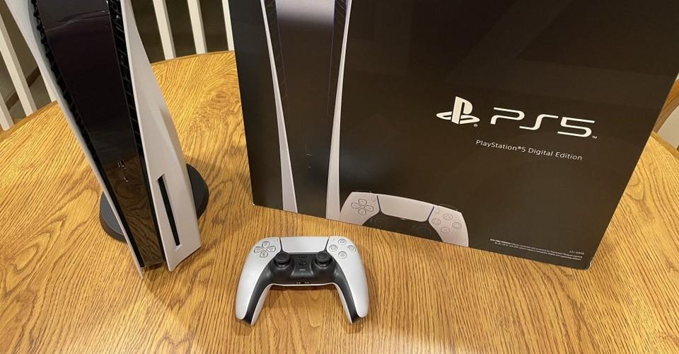 Sony verkeerde PS5 geleverd verpakking