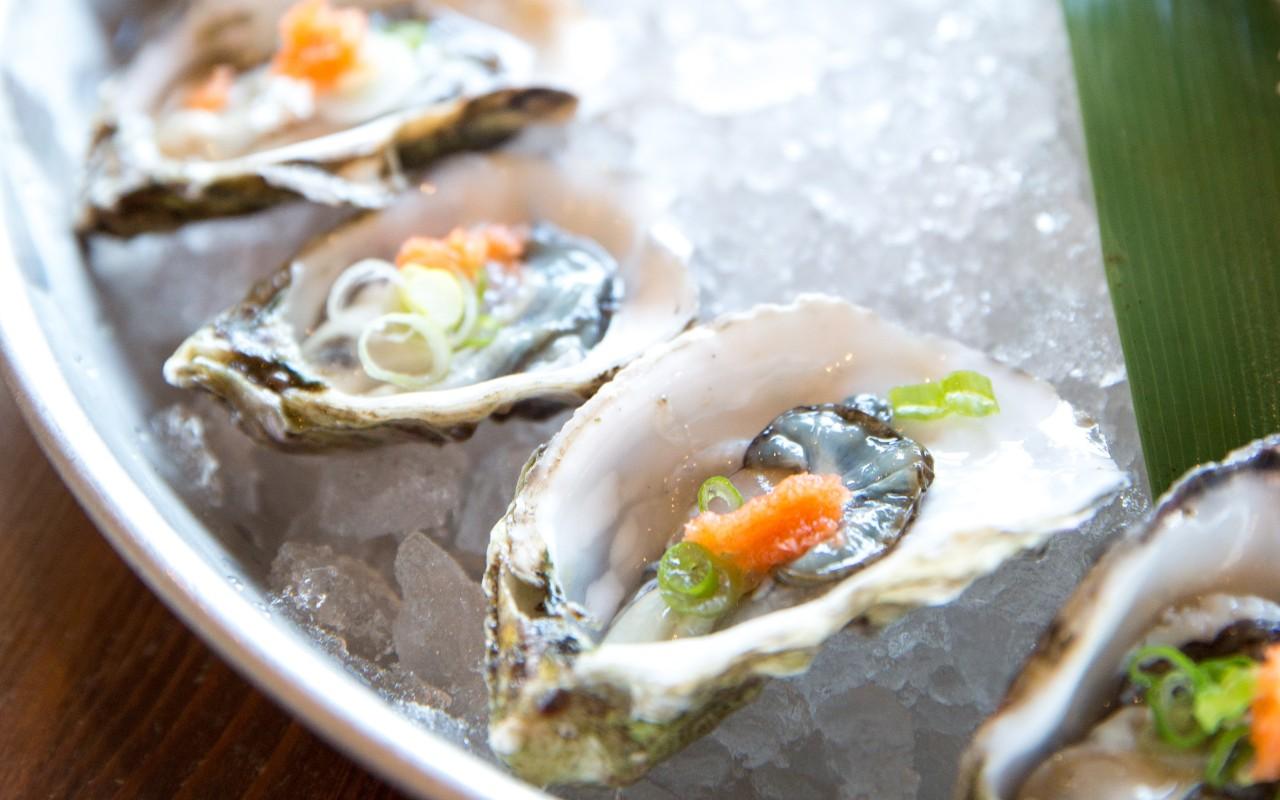 oesters bij champagne