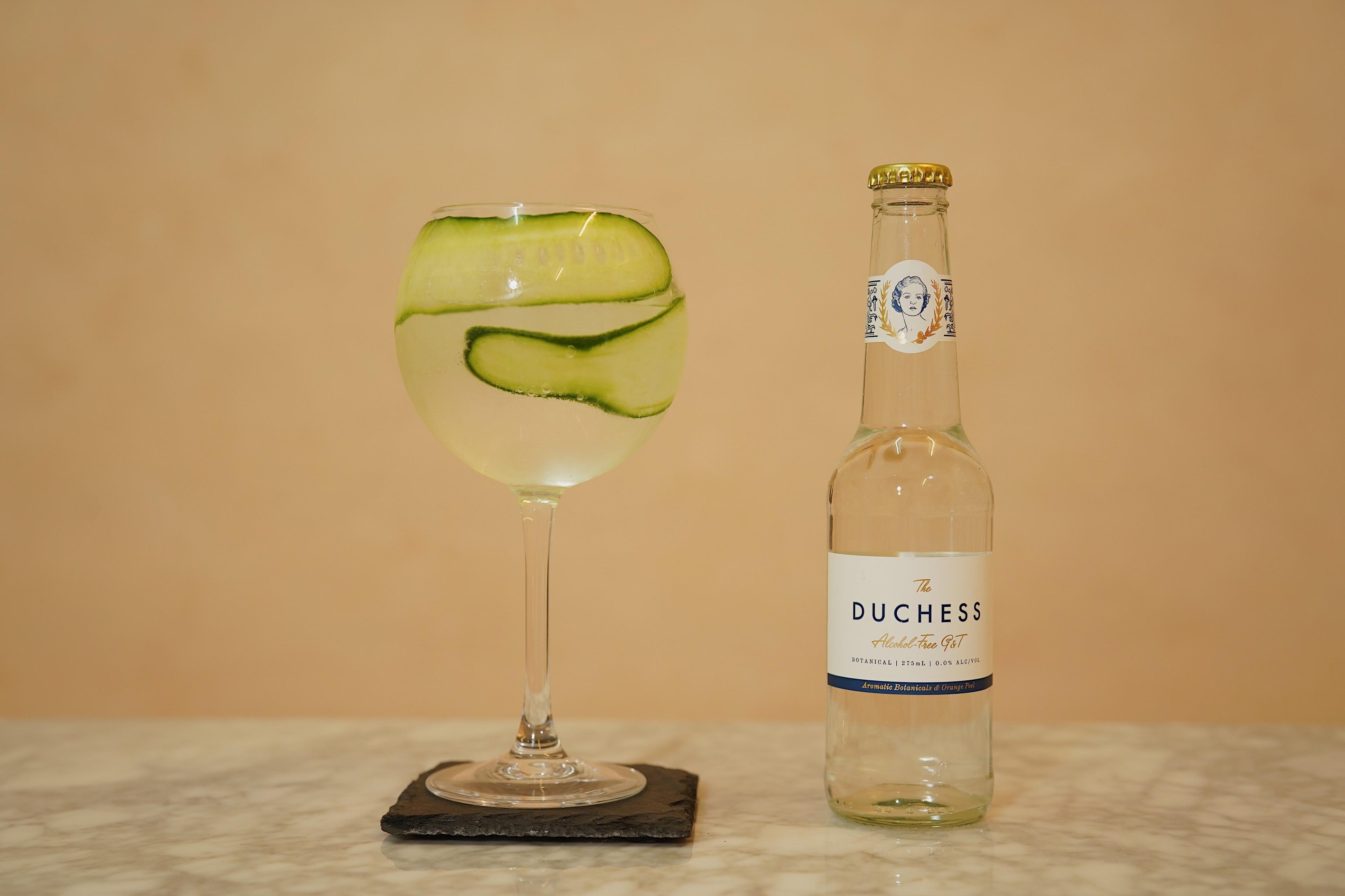 Gin Tonic alcoholvrij