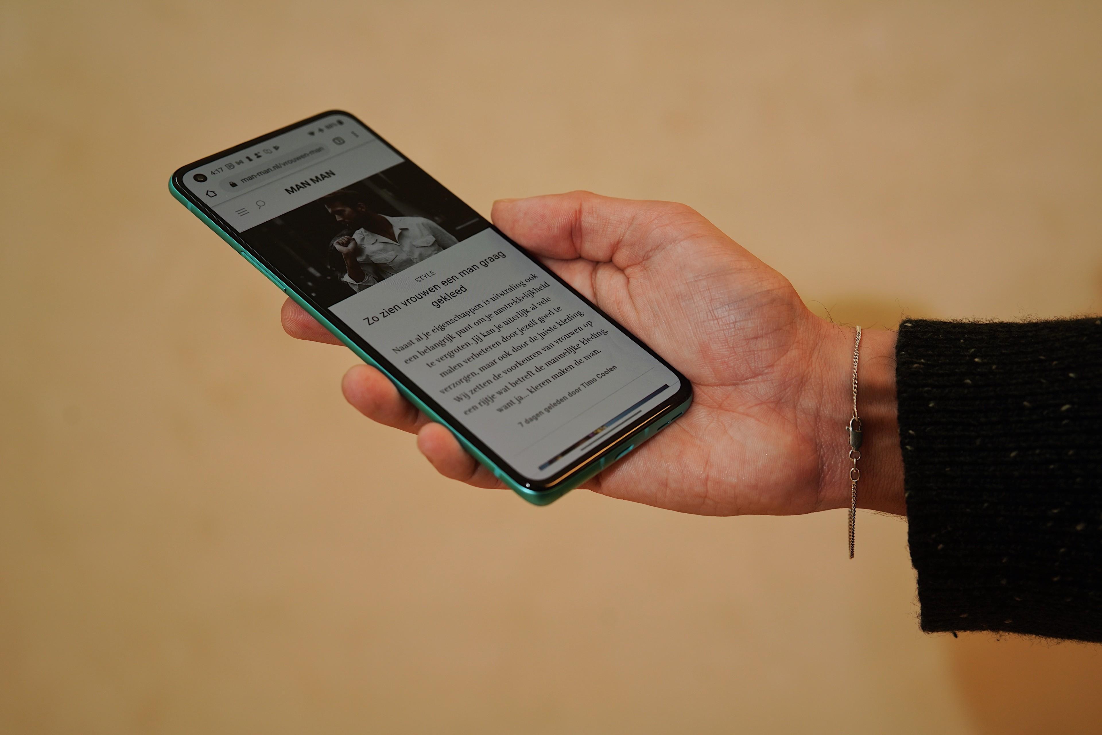 OnePlus 8T nieuwe smartphone