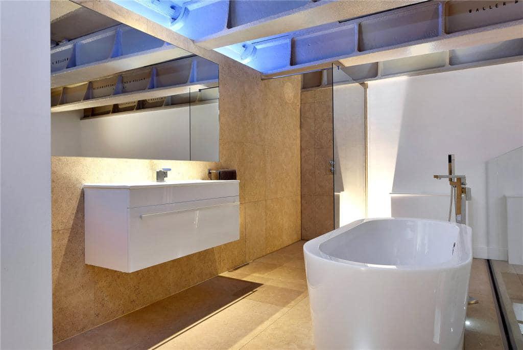 badkamer loft