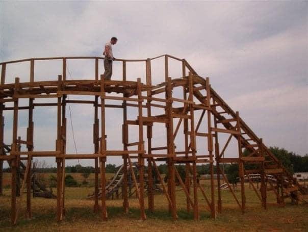 achtbaan bouwen