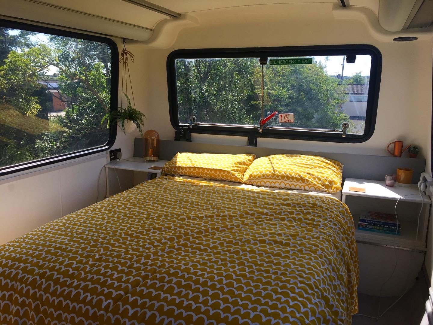 bus bed