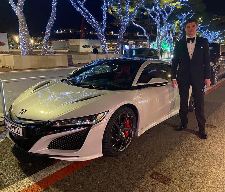 Max Verstappen auto