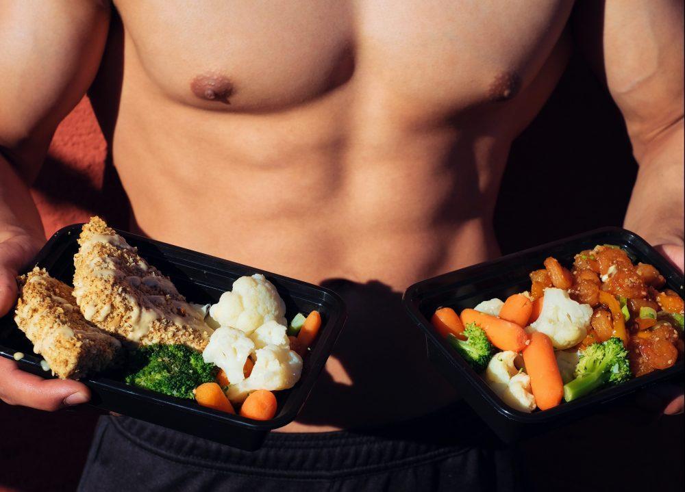 wat eten voor het sporten