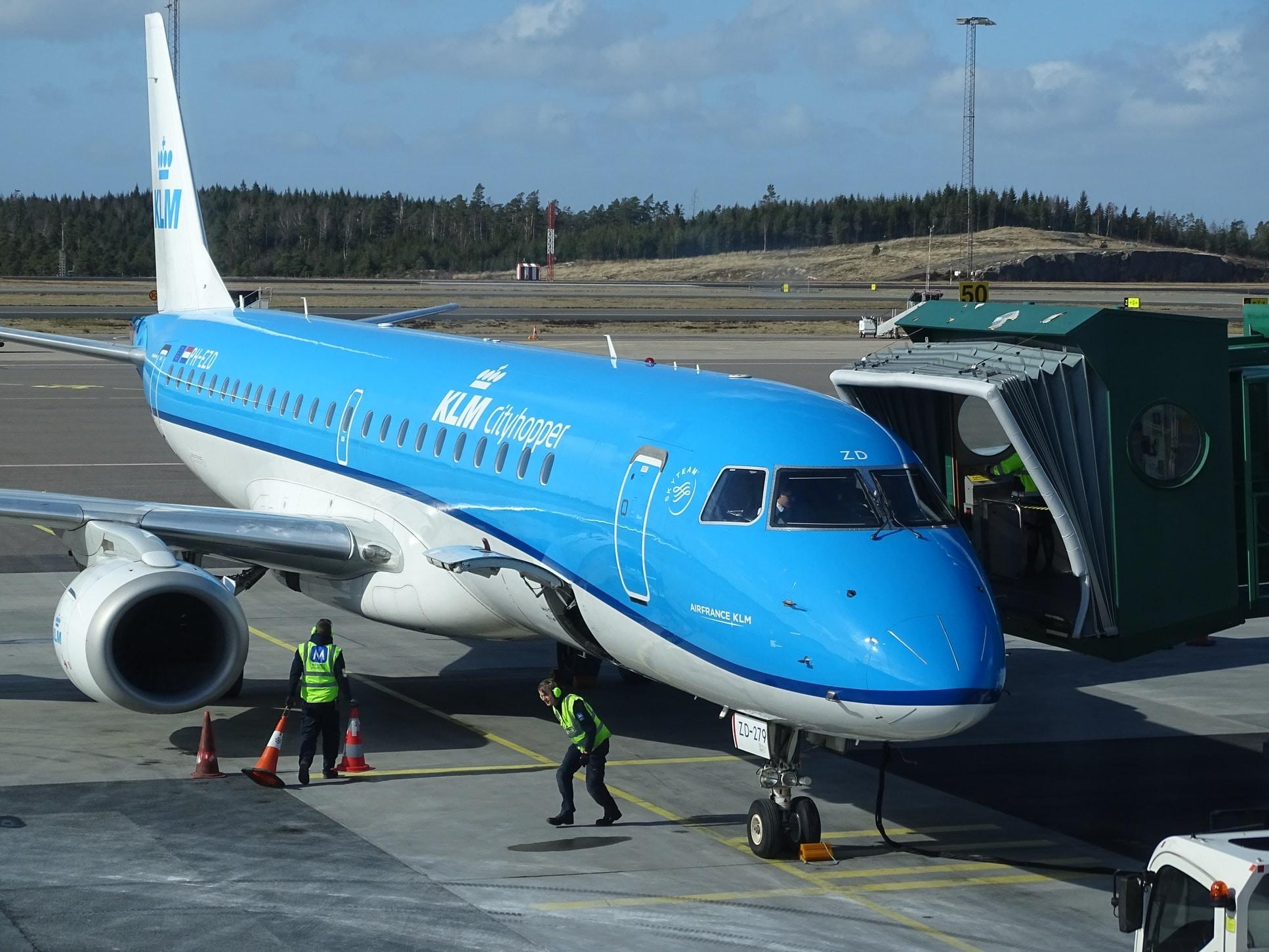 Vliegtuigen KLM