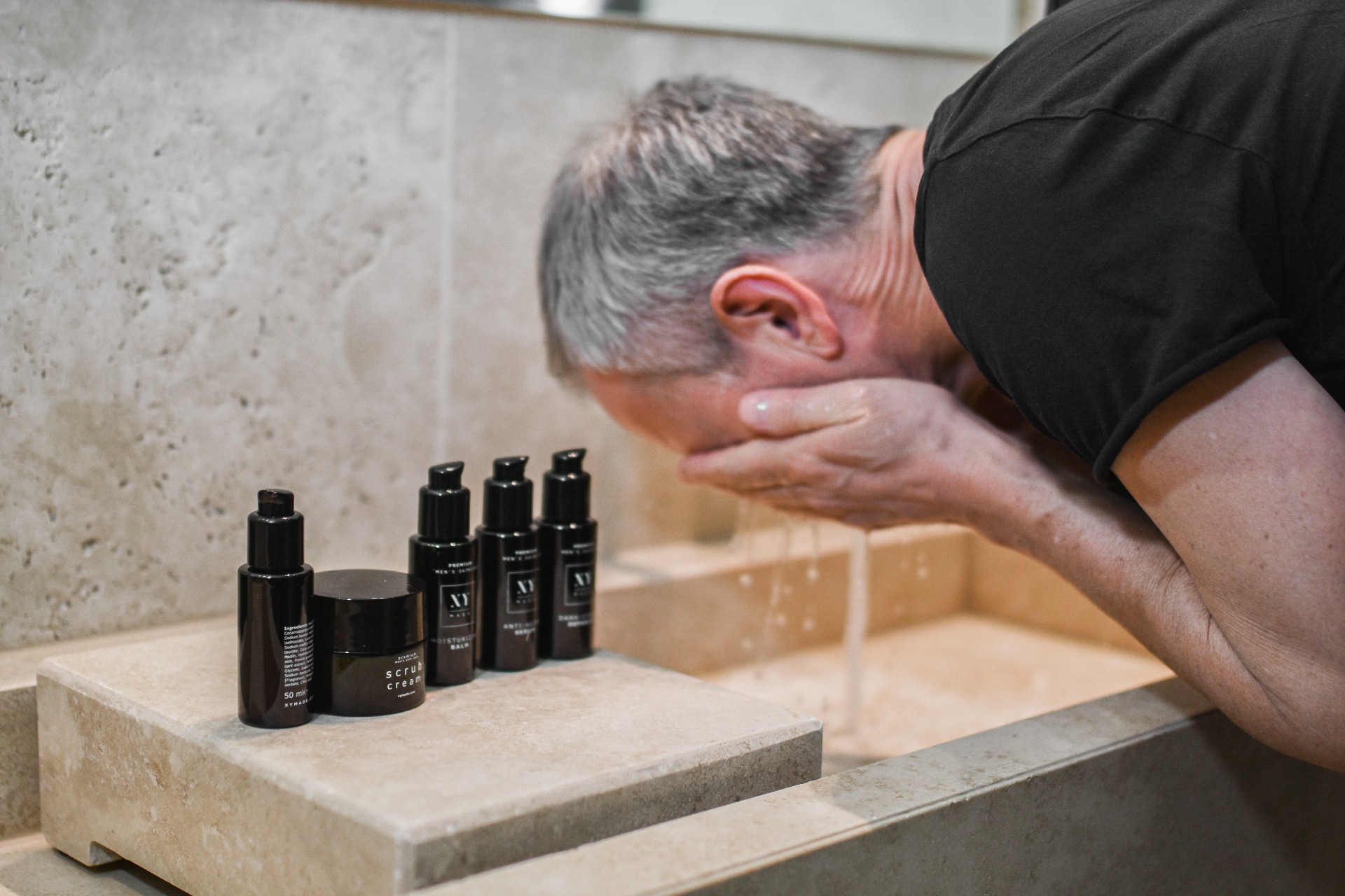 hoe gezichtsverzorging mannen