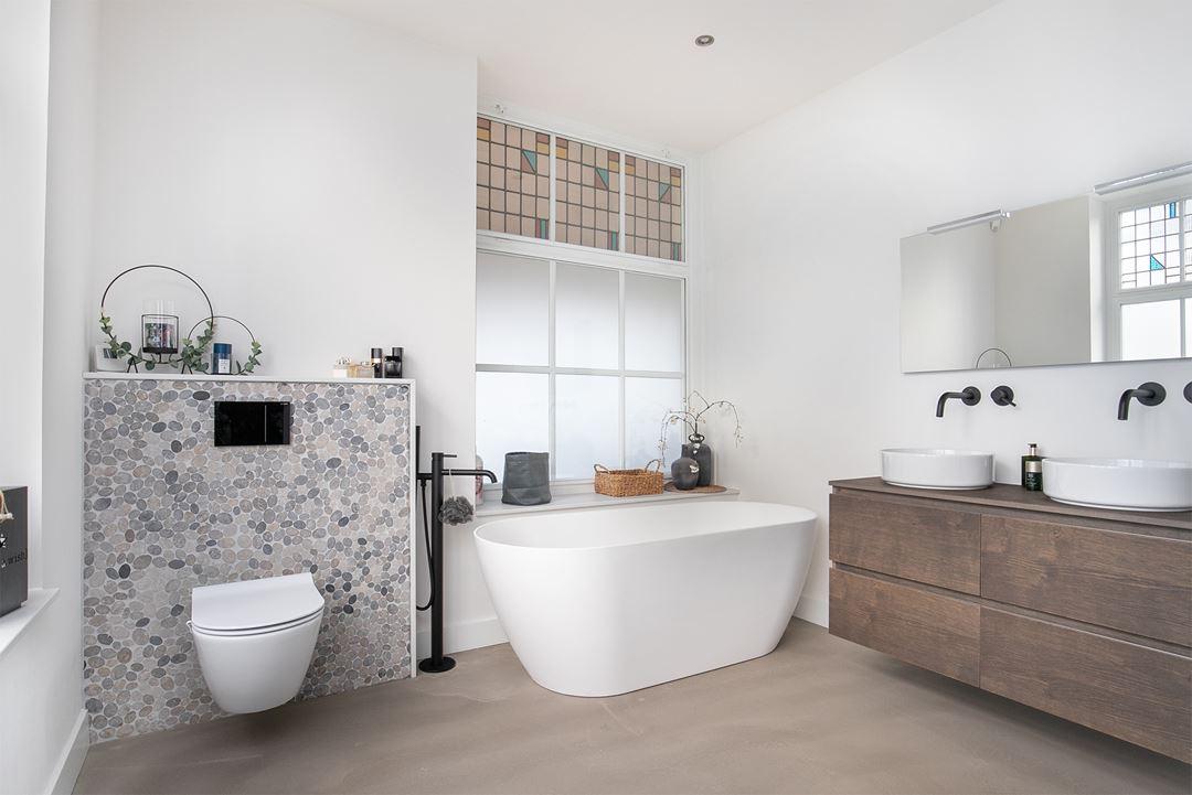 woonboerderij badkamer