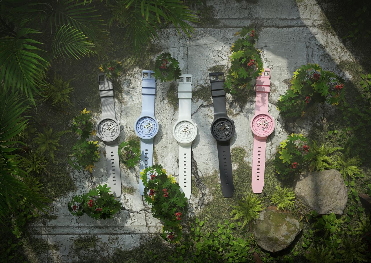 Swatch gekleurde horloges BIG BOLD