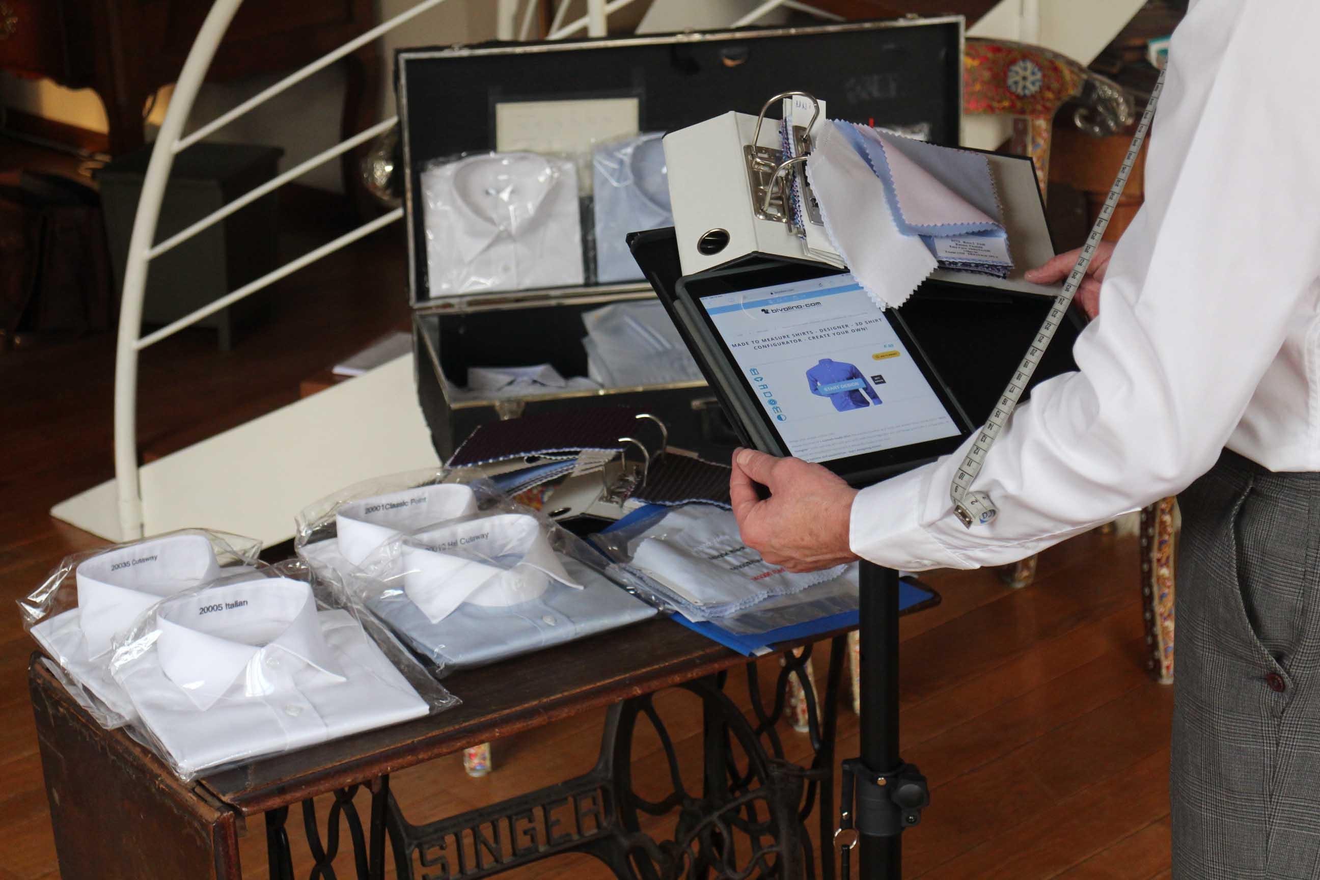 Bivolino op maat maken overhemd online