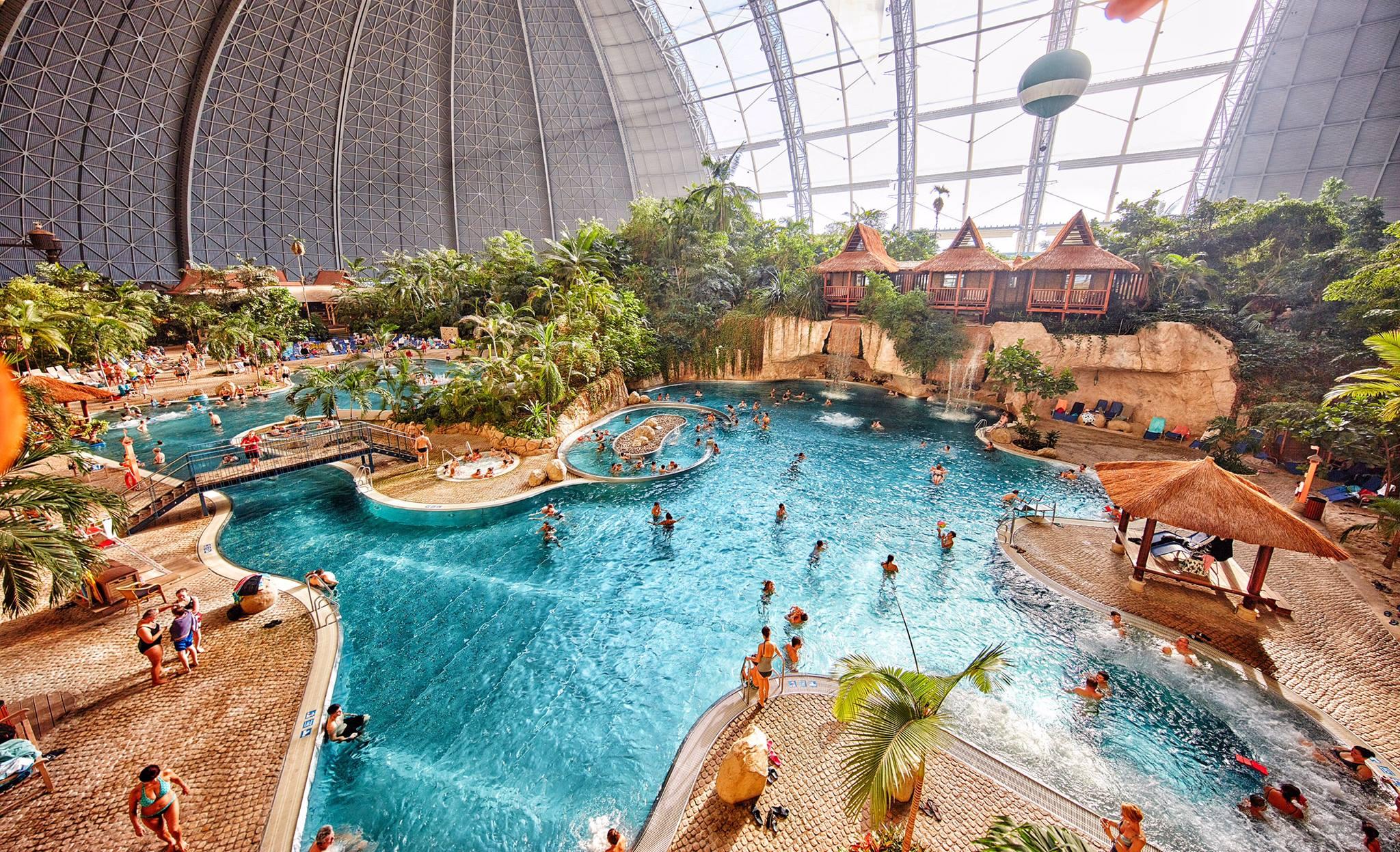 grootste binnenzwembad ter wereld