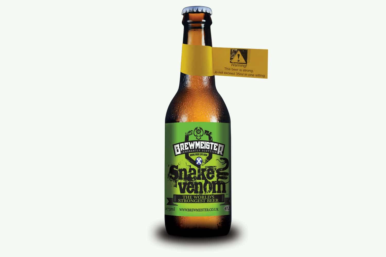 sterkste biertje ter wereld meeste alcohol