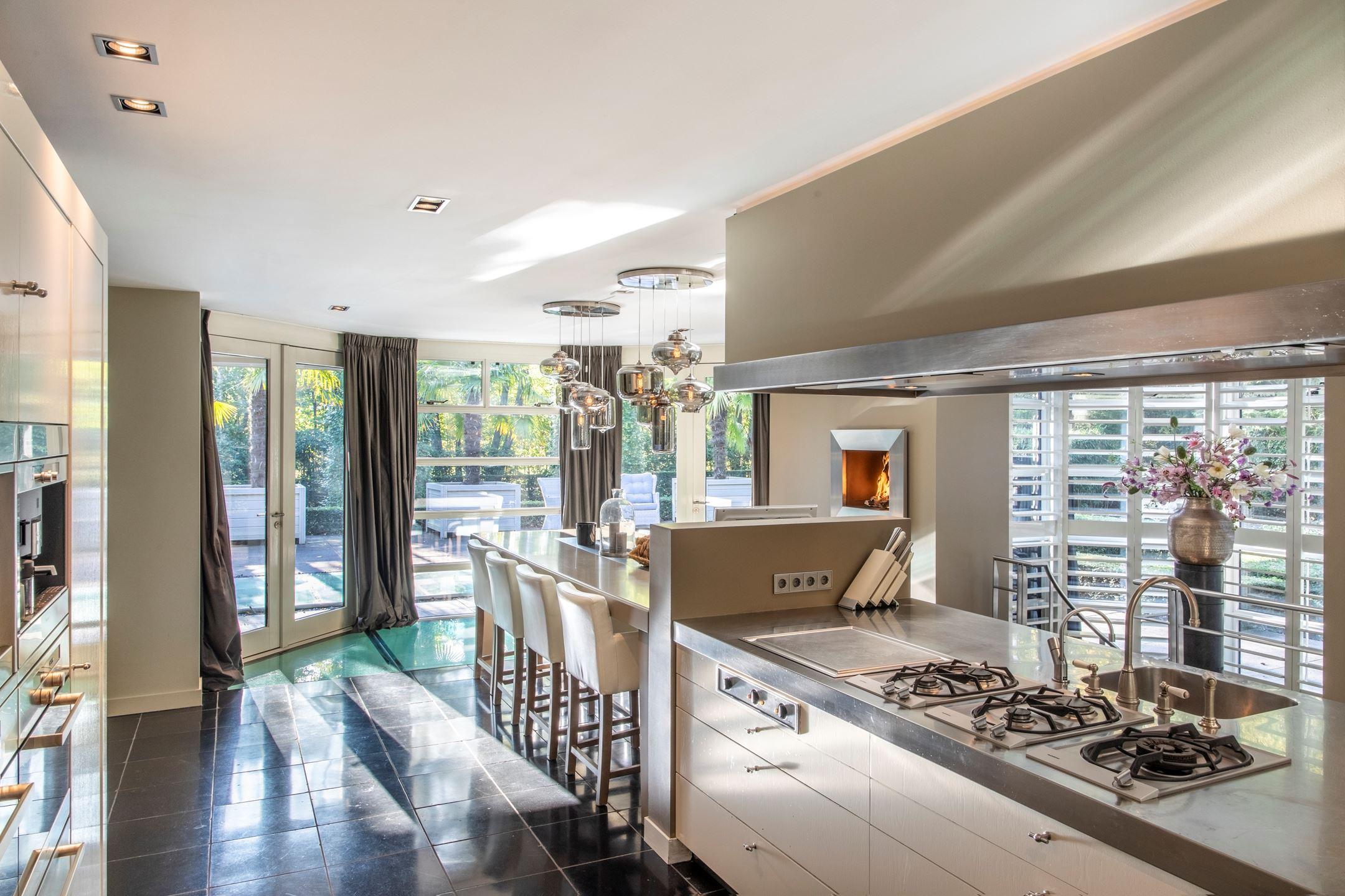 luxe keuken villa