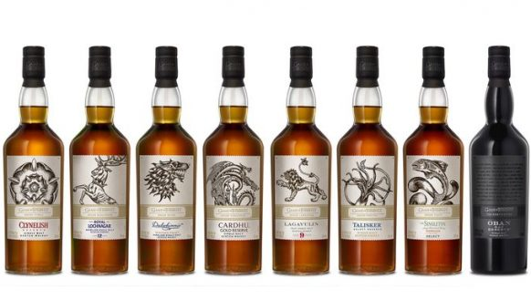 Dit is de nieuwe 8-delige Game of Thrones whisky collectie