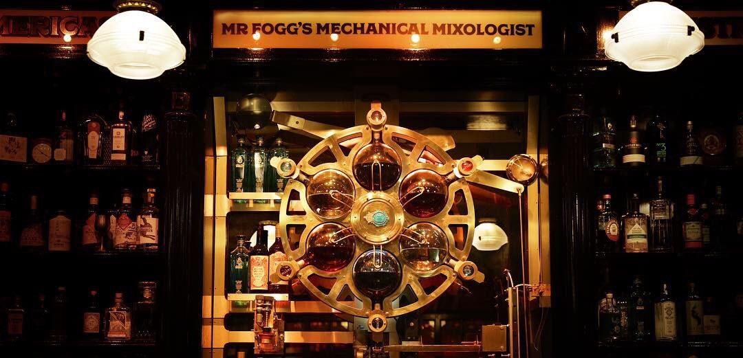 Dit is één van de indrukwekkendste cocktailmachines die jij ooit zult zien