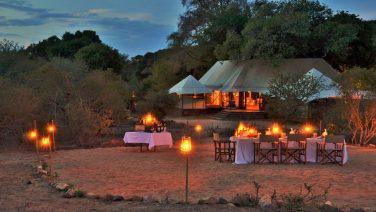 Glamping in het Krugerpark met leeuwen in de achtertuin