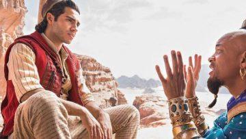 De heerlijke eerste beelden van Will Smith als geest in de nieuwe Aladdin film