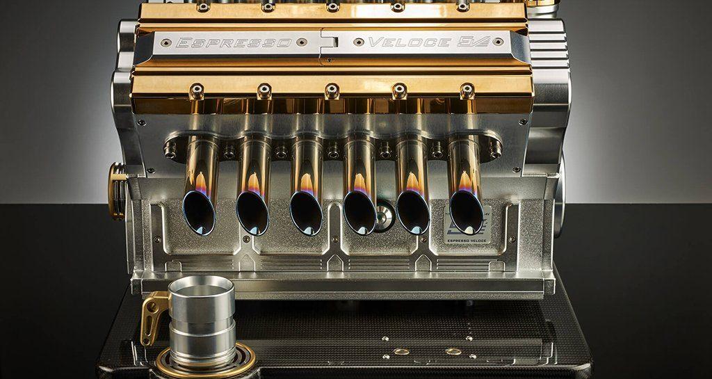 Dit Formule-1 koffiezetapparaat is dé eyecatcher van jouw mancave