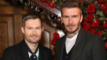 David Beckham komt met een enorm harde Peaky Blinders collectie